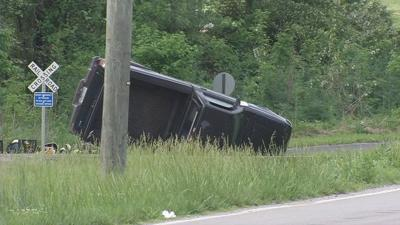 Man killed when truck rolls several times off Cane Run Road in southwest Jefferson County