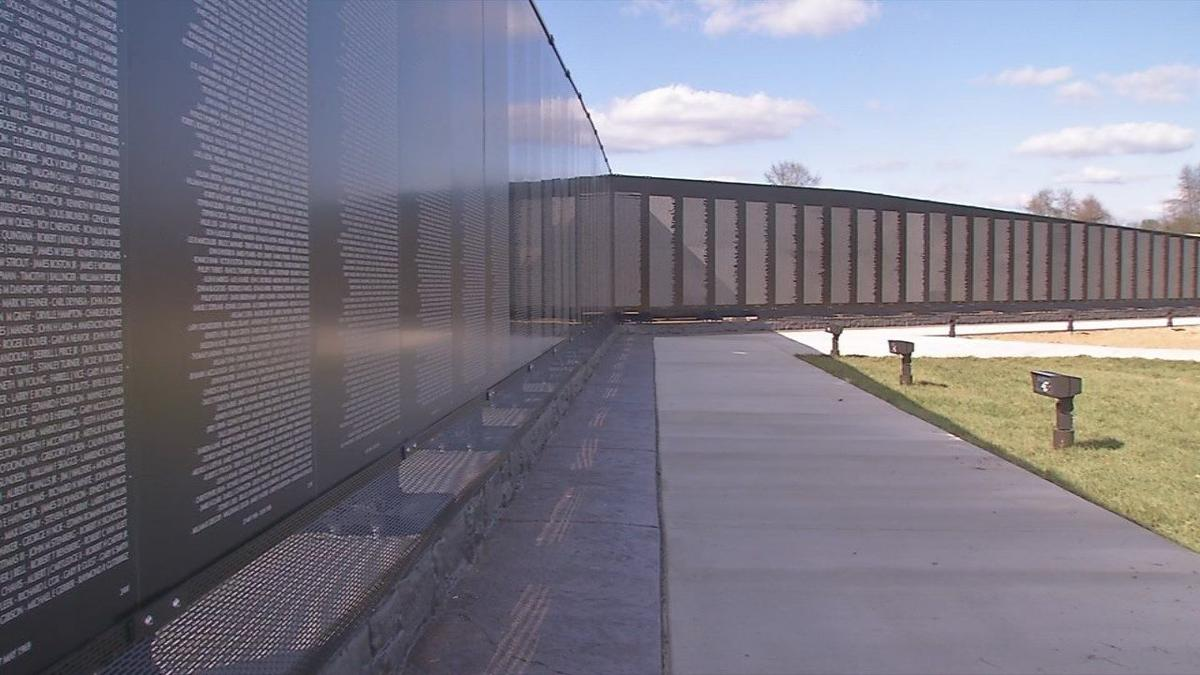 Vietnam War Memorial Wall Almost Ready For Official Dedication In Elizabethtown News Wdrb Com