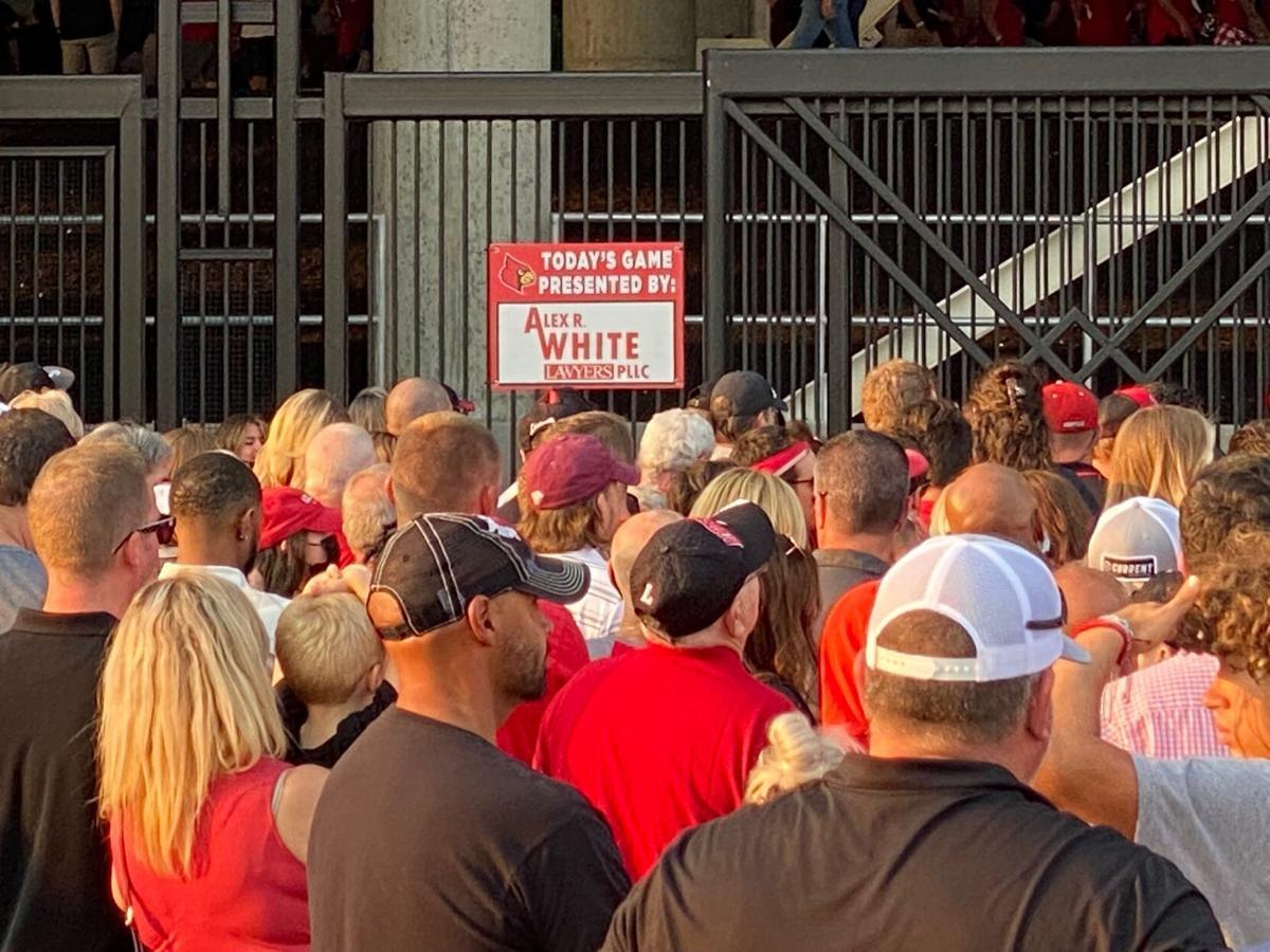 Cardinal Stadium crowd