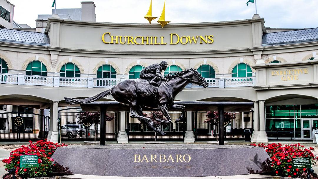 Barbaro statue Churchill Downs