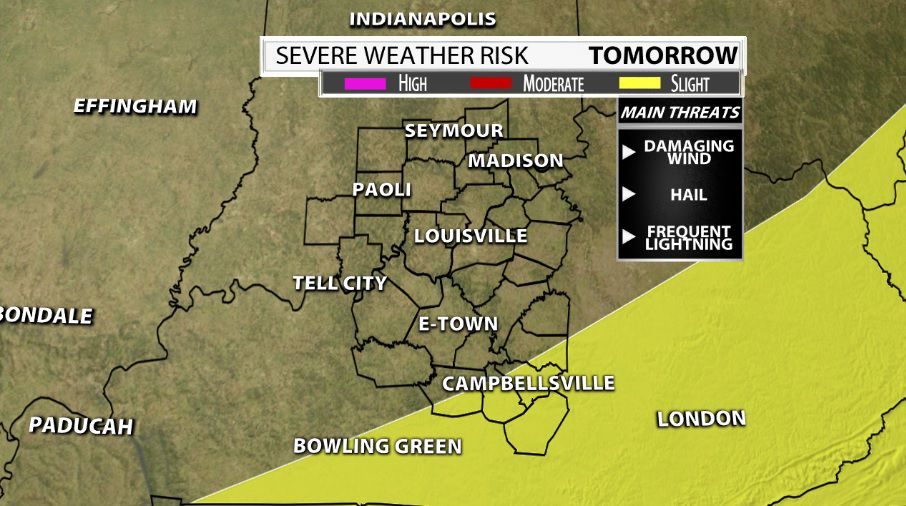 Strong Storm Potential Monday & Tuesday | Weather Blog | wdrb com