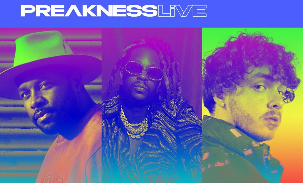 "Rapper Jack Harlow, 2 Chainz and D-Nice to headline ""Preakness Live"" at Pimlico on Saturday"
