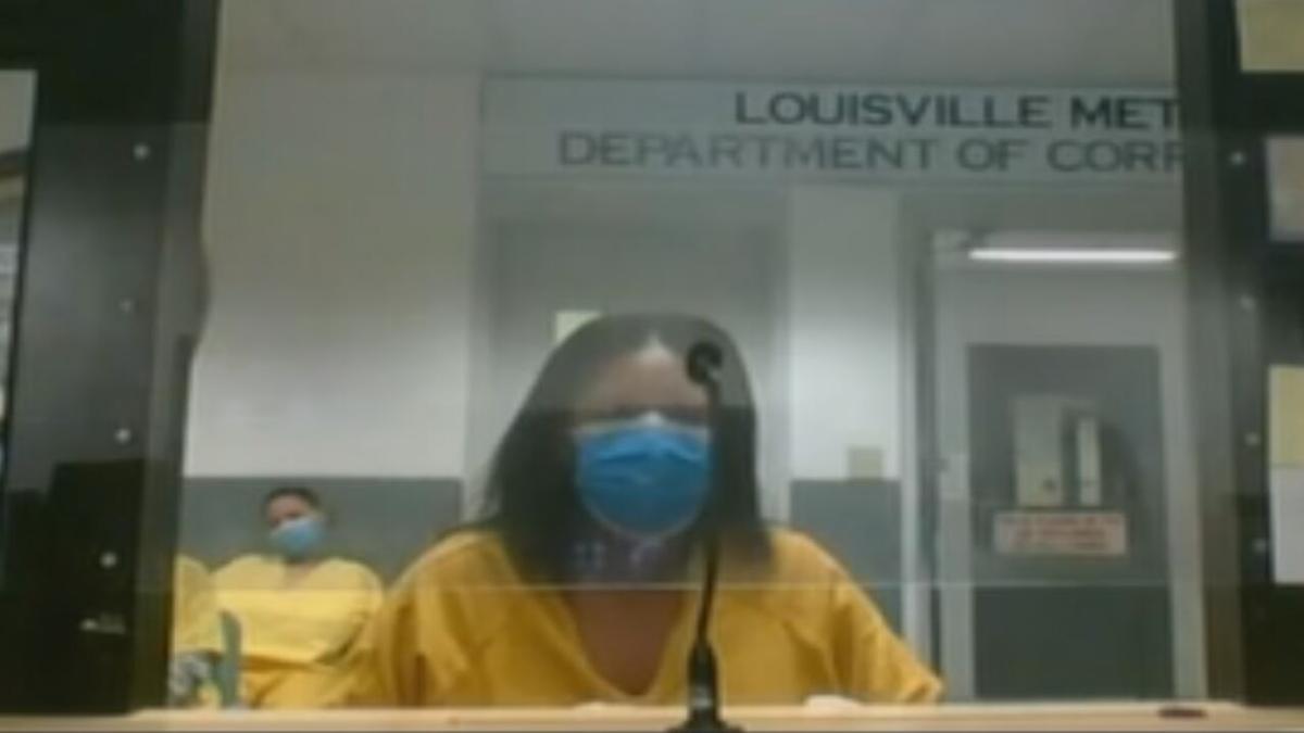 Faith Turner in court