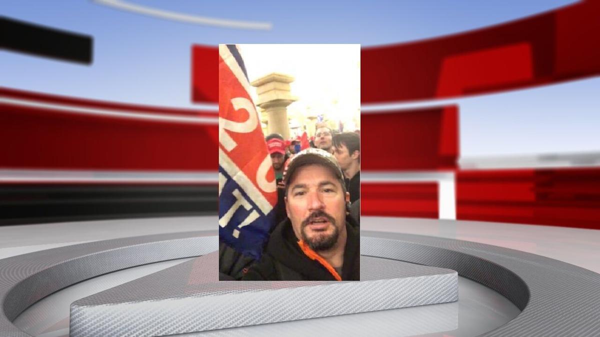 Kentucky resident Robert Bauer inside the US Capitol (Courtesy of FBI criminal complaint)