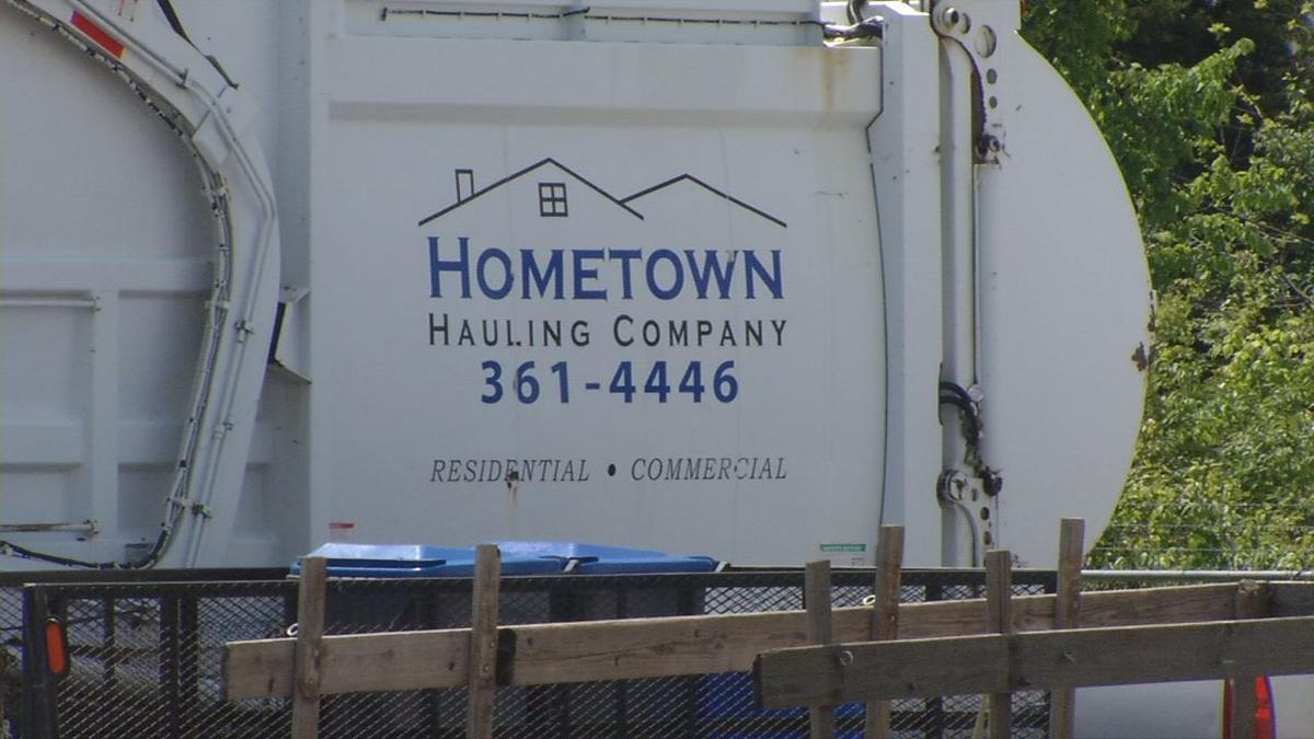 Hometown Hauling pays for elderly woman's groceries