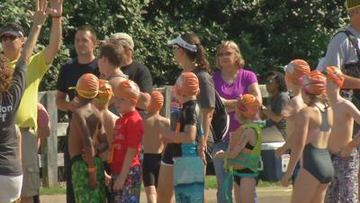 Third annual COOL Kids mini-triathlon held Saturday