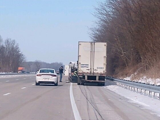 Truck driver arrested on numerous charges.jpg