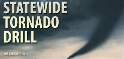 Statewide Tornado Drills Tuesday