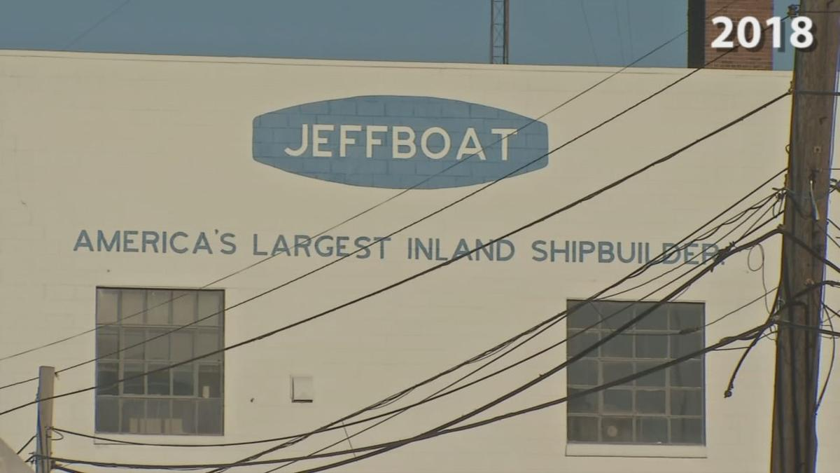 Jeffboat in Jeffersonville, Indiana (Closed)