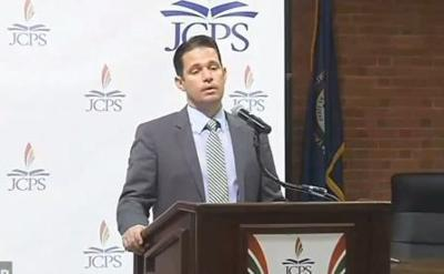 Marty Pollio outlines goals as he takes over as interim superintendent for JCPS