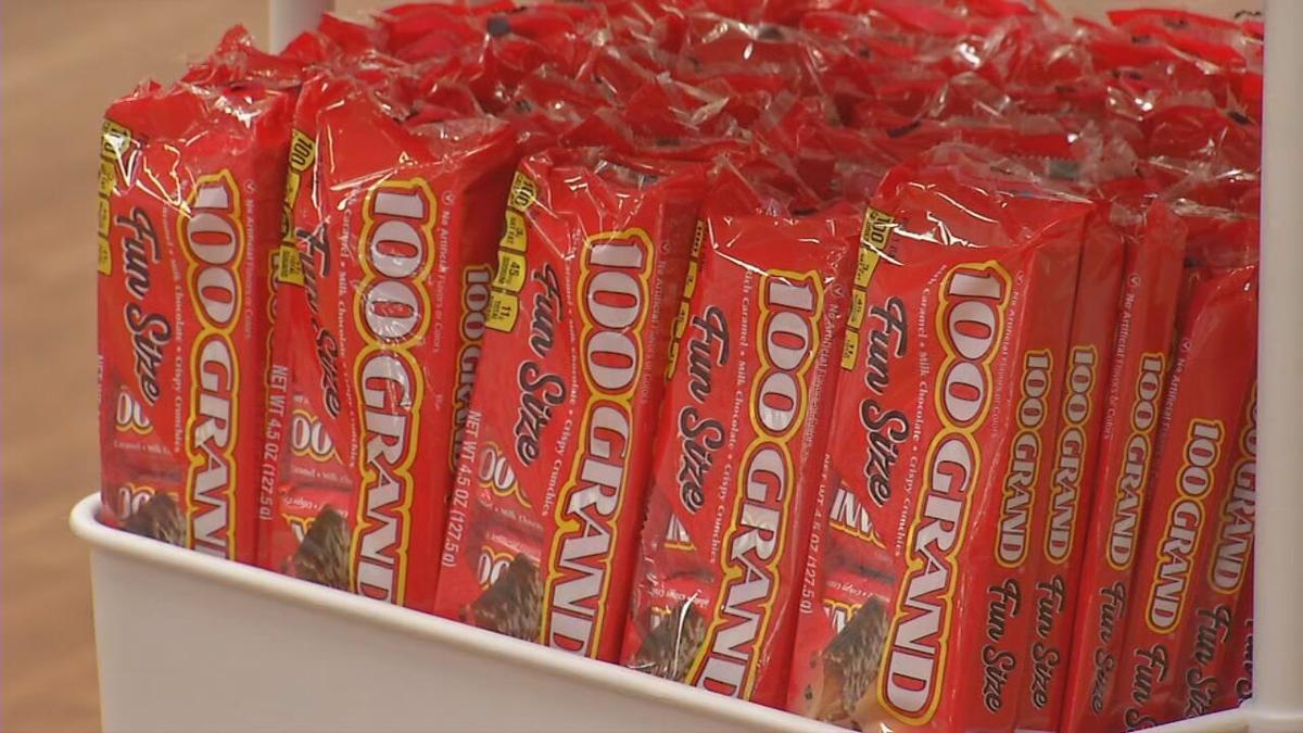 Nestles 100 Grand Bars