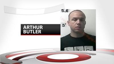 Arthur Butler mugshot