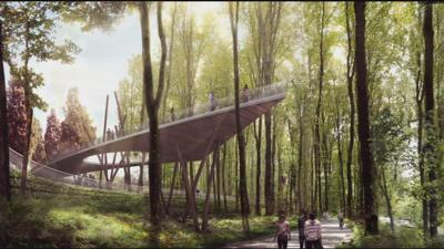 Work begins on new $63 million Waterfront Botanical Gardens