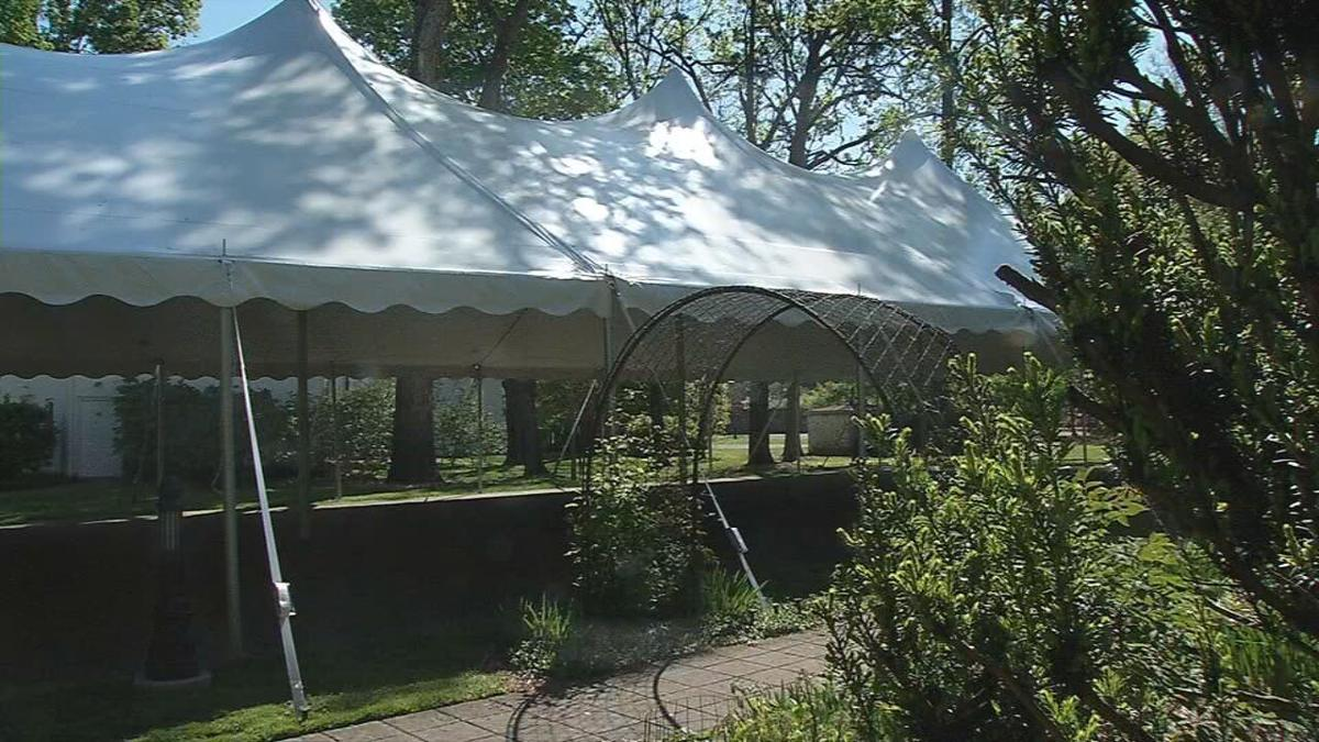Whitehall outdoor tent