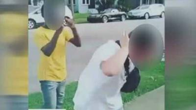 VIDEO | 8th grader arrested after video surfaces of beating in New Albany