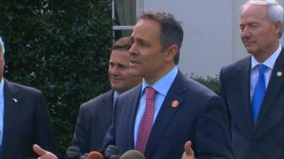 Gov. Bevin says federal healthcare money is being wasted on Obamacare