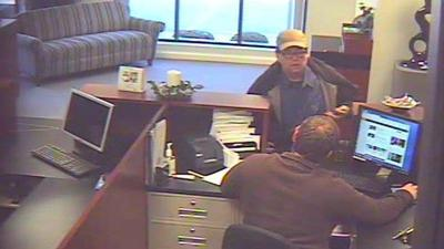 Jeffersonville police searching for bank robber