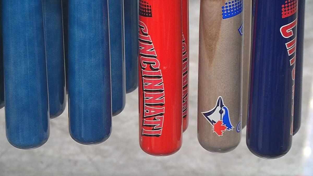 Louisville Slugger designs custom team bats for MLB's 2019 Players' Weekend