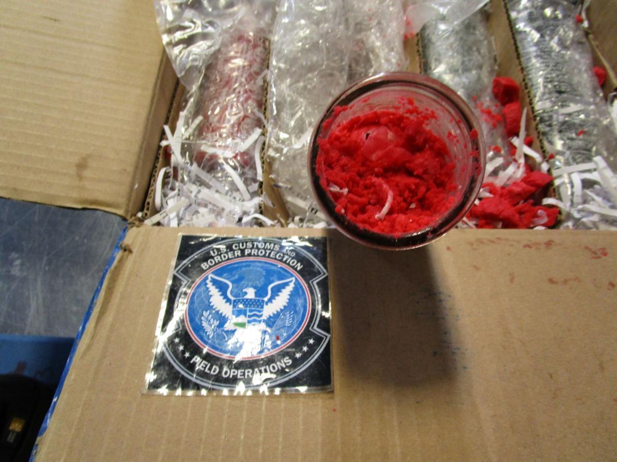 Federal seizure of drugs at Louisville Muhammad Ali International Airport (Nov. 2019)