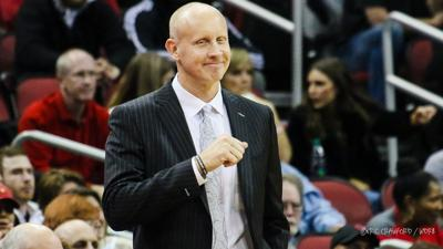 Chris Mack fist smile