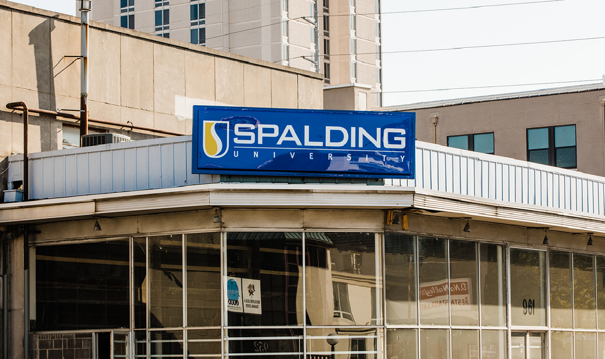 Spalding University's Physical Therapy building on South Third