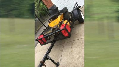 Thousands of dollars in lawn care equipment stolen from Bardstown teen
