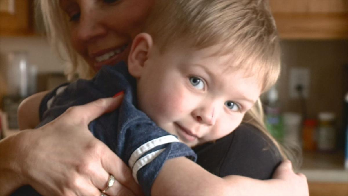 Jennifer Trattner and 2-year-old Asher (Fox 59)