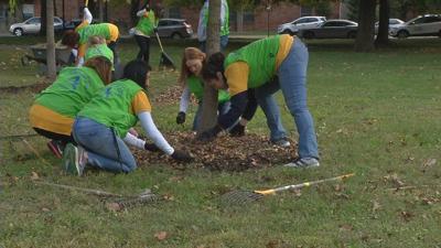 Volunteers clean up local park in effort to help reduce crime