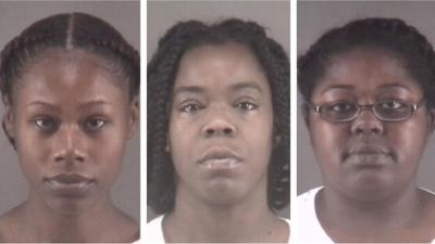 Tonacia Yvonne Tyson, Marilyn Latish McKey and Taneshia Deshawn Jordan