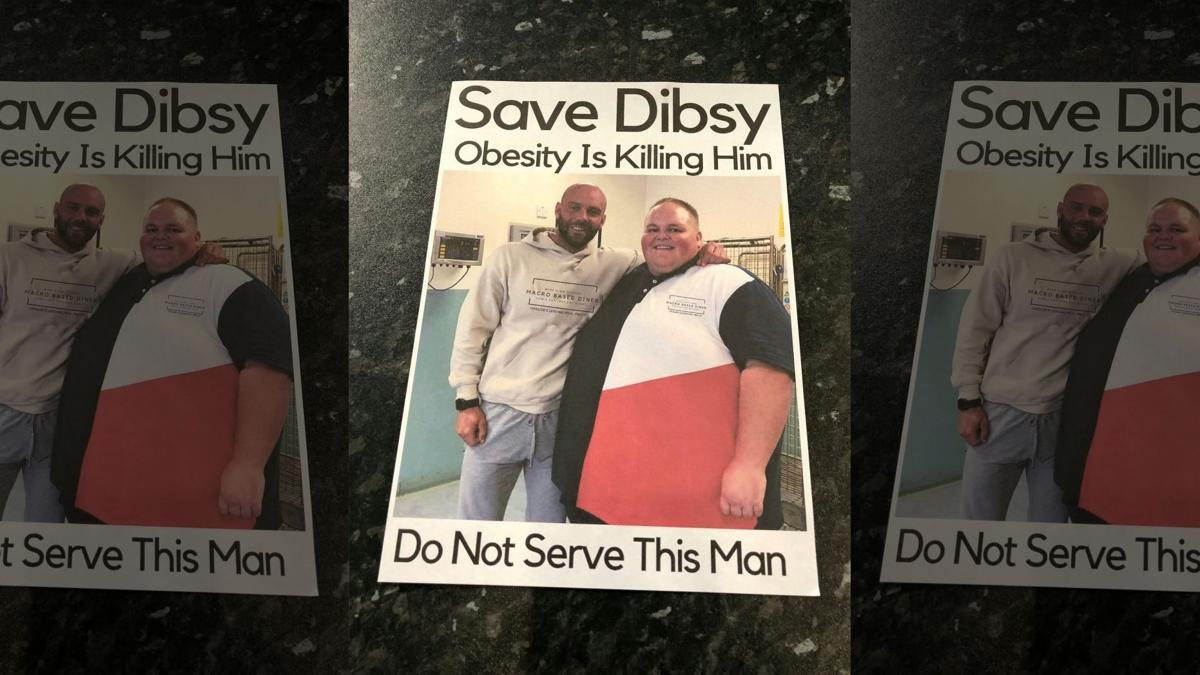 Massive Weight Loss - Save Disby Flyer