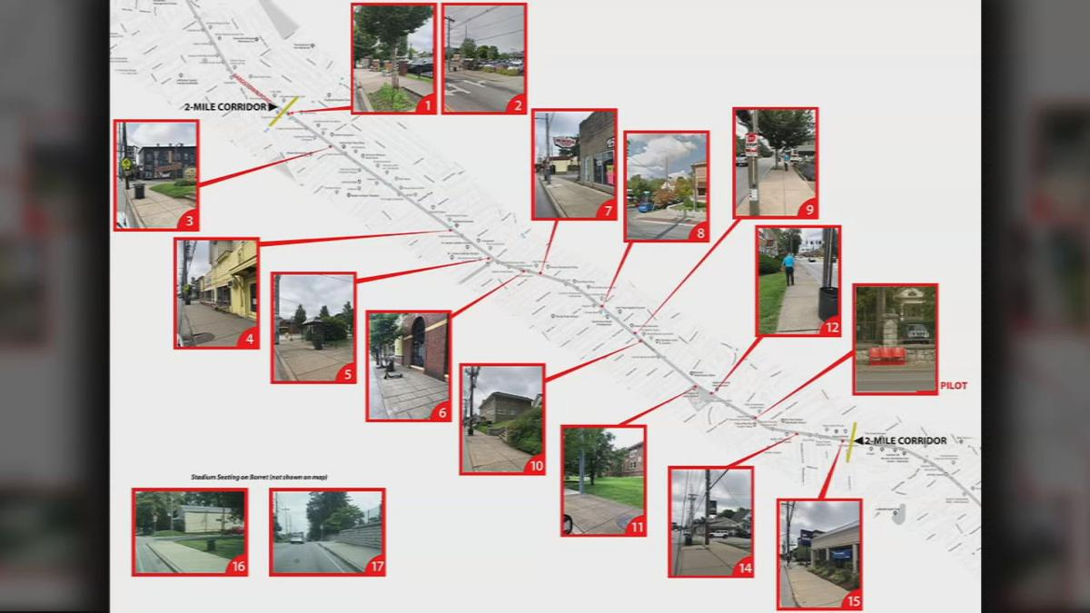 Old Cardinal Stadium bus stop seating map