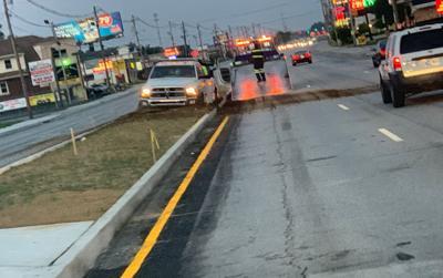 new dixie hwy fb truck in median 071019 - courtesy Metro Councilman Rick Blackwell on Facebook.jpg