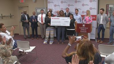 State Farm Urban League donation 5-29-19