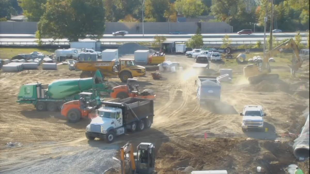 Jewish Community Center construction (Oct. 2020)