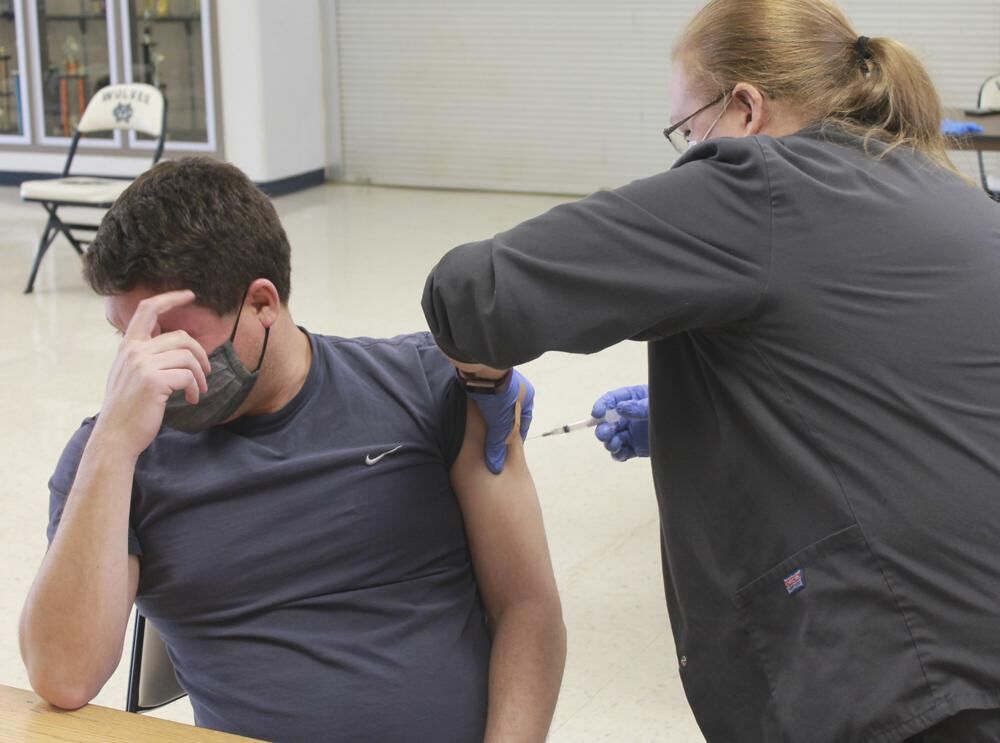 COVID-19 vaccination in Indiana (file)