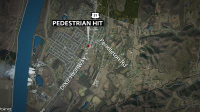 Dixie Highway pedestrian fatal 8-22-19