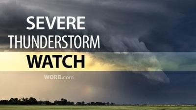 SEVERE THUNDERSTORM WATCH: Locations, Timing & Threats...