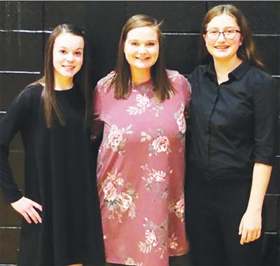 - Kelley and Hanger represented school with the Junior-High District Honor Band