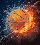 - basketball flaming