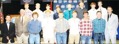 "Seymour High School baseball team honored as  one of five finalists for the ""Boys Team Of The Year"" in the Ozarks"