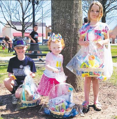 - Easter-egg hunt grand-prize winners
