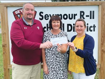 - County C.A.R.E.S. cash: $367,611 for Seymour