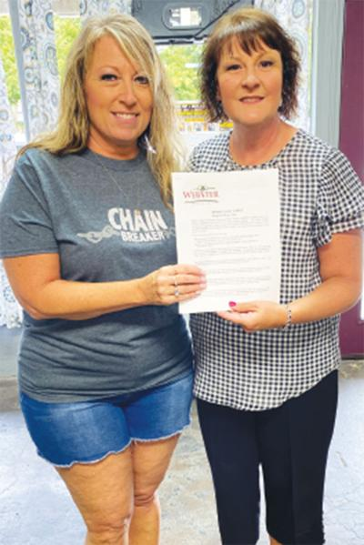- C.A.R.E.S. Act forms handed out