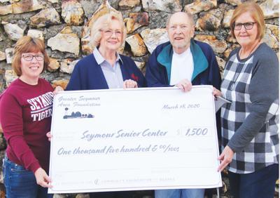 - Seymour Senior Citizens' Center received $1,500 from GSAF