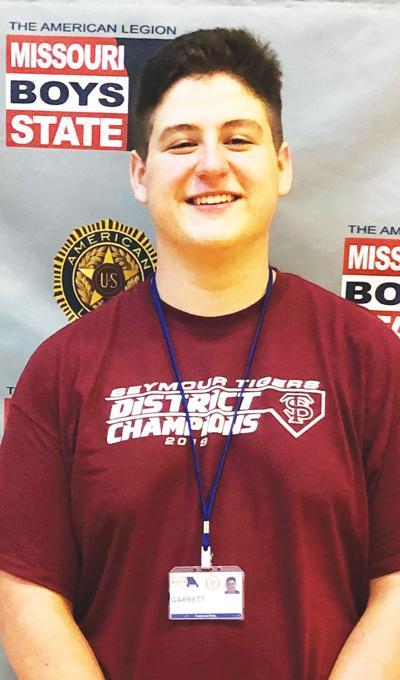 Garrett Little at Boys State
