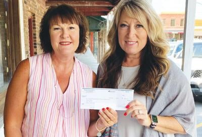 - Renne's Place receives check for $4,767.54