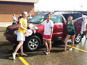 • Car wash Saturday