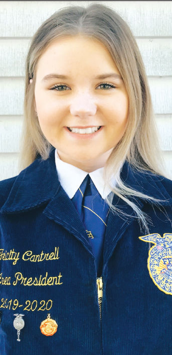 - Cantrell: State FFA officer