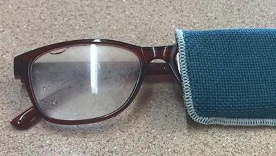 Glasses found Friday outside Citizen