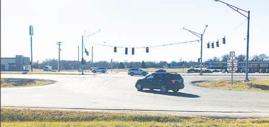 - Three new interchanges